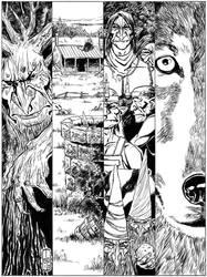 Loviatar #10 cover by JayPenn