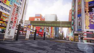 [MMD] Akihabara City Street