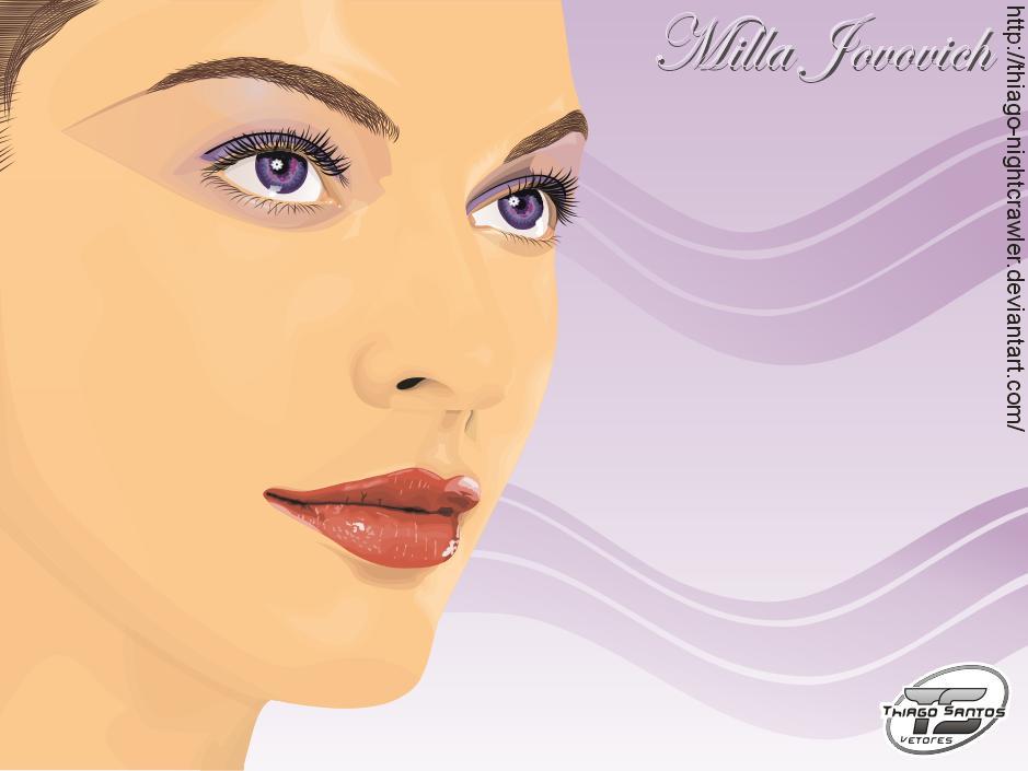 Milla Jovovich by Thiago-NightCrawler