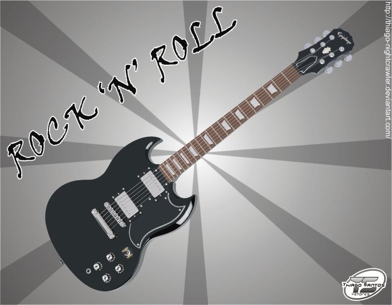 Guitar by Thiago-NightCrawler