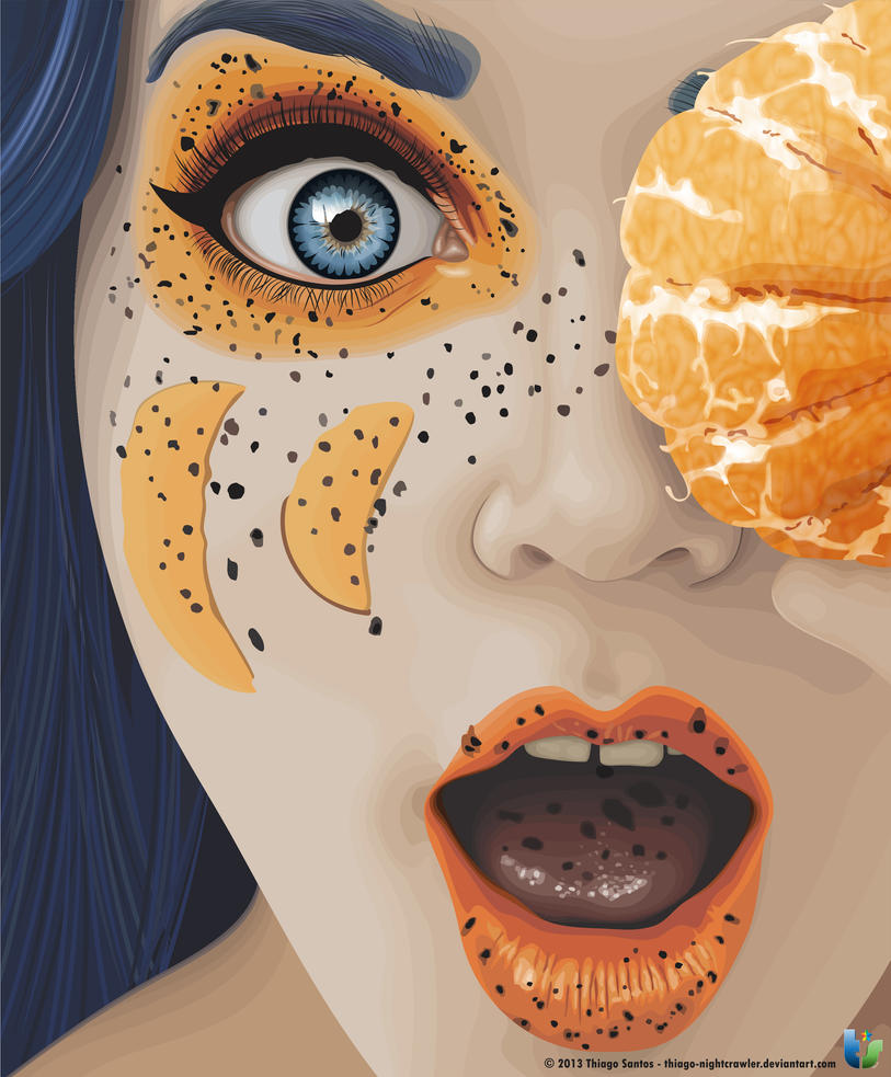Tangerine woman by Thiago-NightCrawler