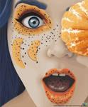 Tangerine woman