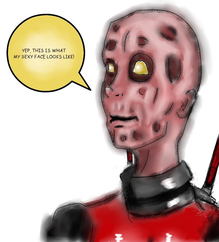 Deadpool No Mask By Ask Deadpool69 On Deviantart