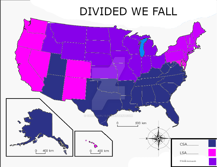 Divided We Fall Map by chaosgirl13