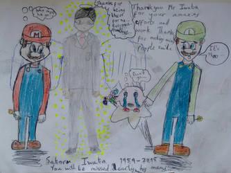 Rest in peace Satoru Iwata by nharmoniafangirl14