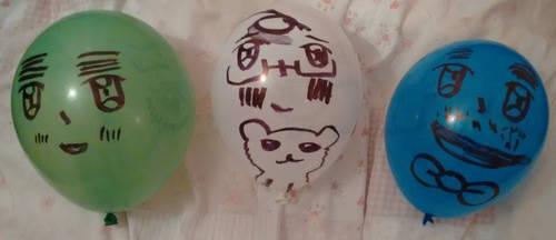 Hetalia balloons by nharmoniafangirl14