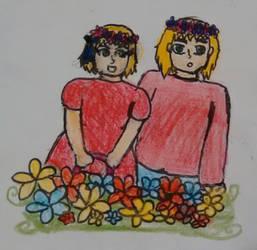 Flowers by nharmoniafangirl14