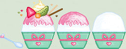Shaved Ice Pixel by Nerdy-pixel-girl