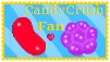 Candy Crush Fan Stamp by Nerdy-pixel-girl