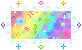 Rainbow Sparkle Stamp by Nerdy-pixel-girl