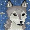 Wolf Icon by Nerdy-pixel-girl