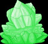 Green Crystal F2U by Nerdy-pixel-girl