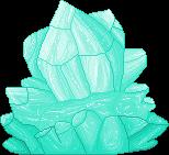 Mint Crystal F2U by Nerdy-pixel-girl