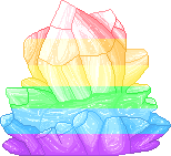 Rainbow Crystal F2U by Nerdy-pixel-girl