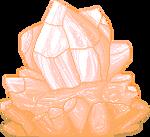 Peach Crystal F2U