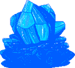 Ocean Blue Crystal F2U by Nerdy-pixel-girl