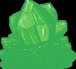 Emerald Green Crystal F2U by Nerdy-pixel-girl