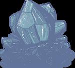 Cadet Blue Crystal F2U