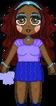 Princess Elisha Mini Pagedoll NF2U by Nerdy-pixel-girl