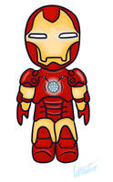 Iron Man Chibi by Sabinzie