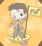 Castiel needs pie!