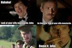 Sherlock Moustache