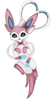 Valentine Sylveon by Sabinzie