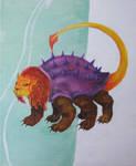 French Dragon Tarasque