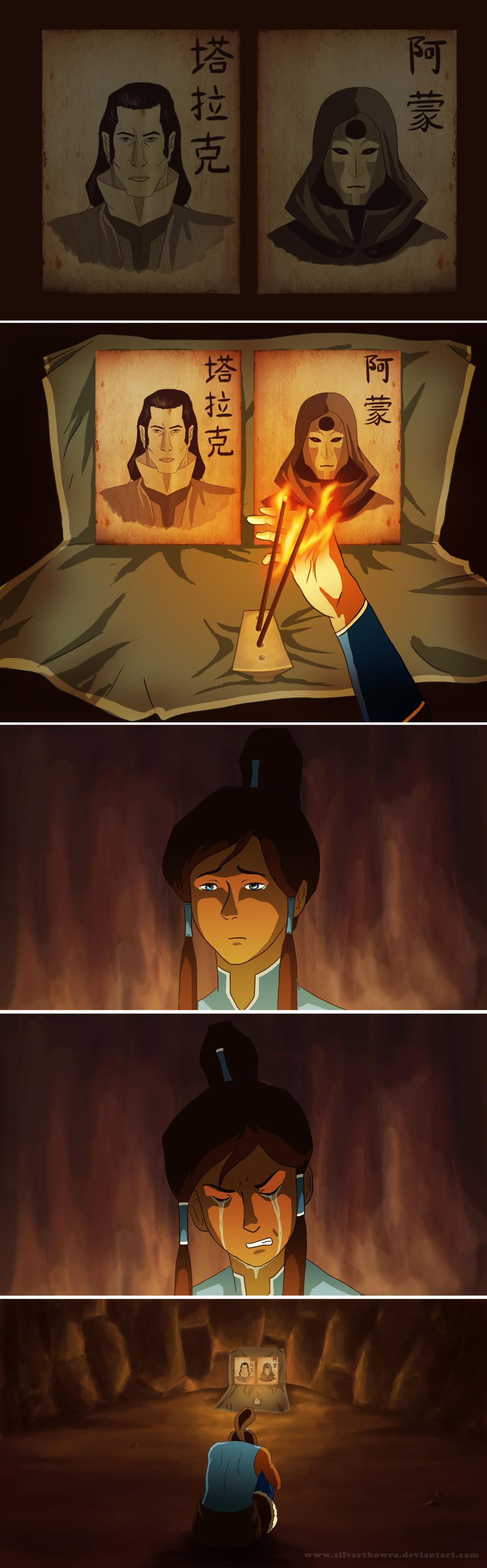 Only the Avatar Remembers... by SilverThowra