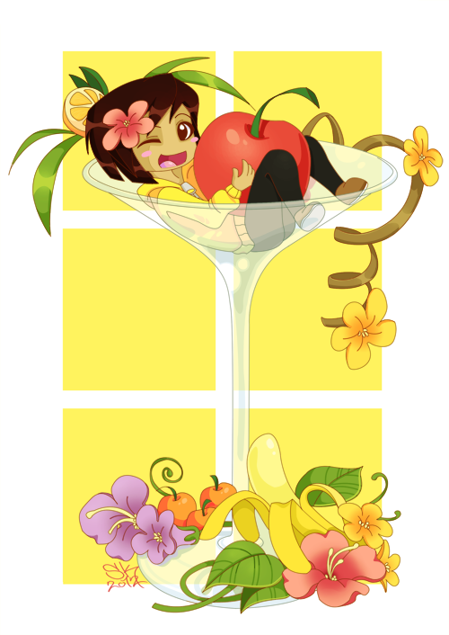 Tropical cocktail by Samritaaa