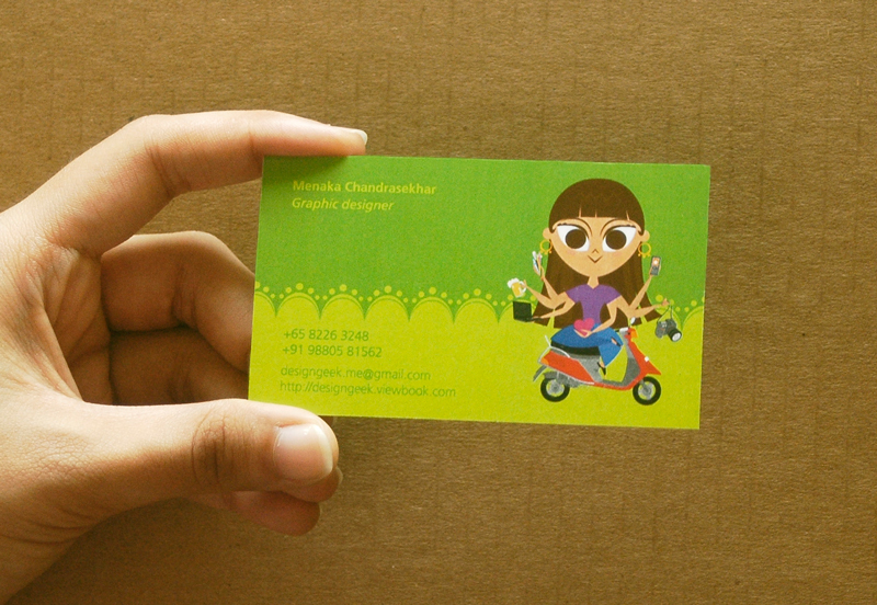 Namecard_Green by Madmenu