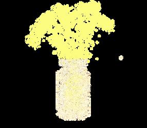 Jans Magick Bottle In Yellow