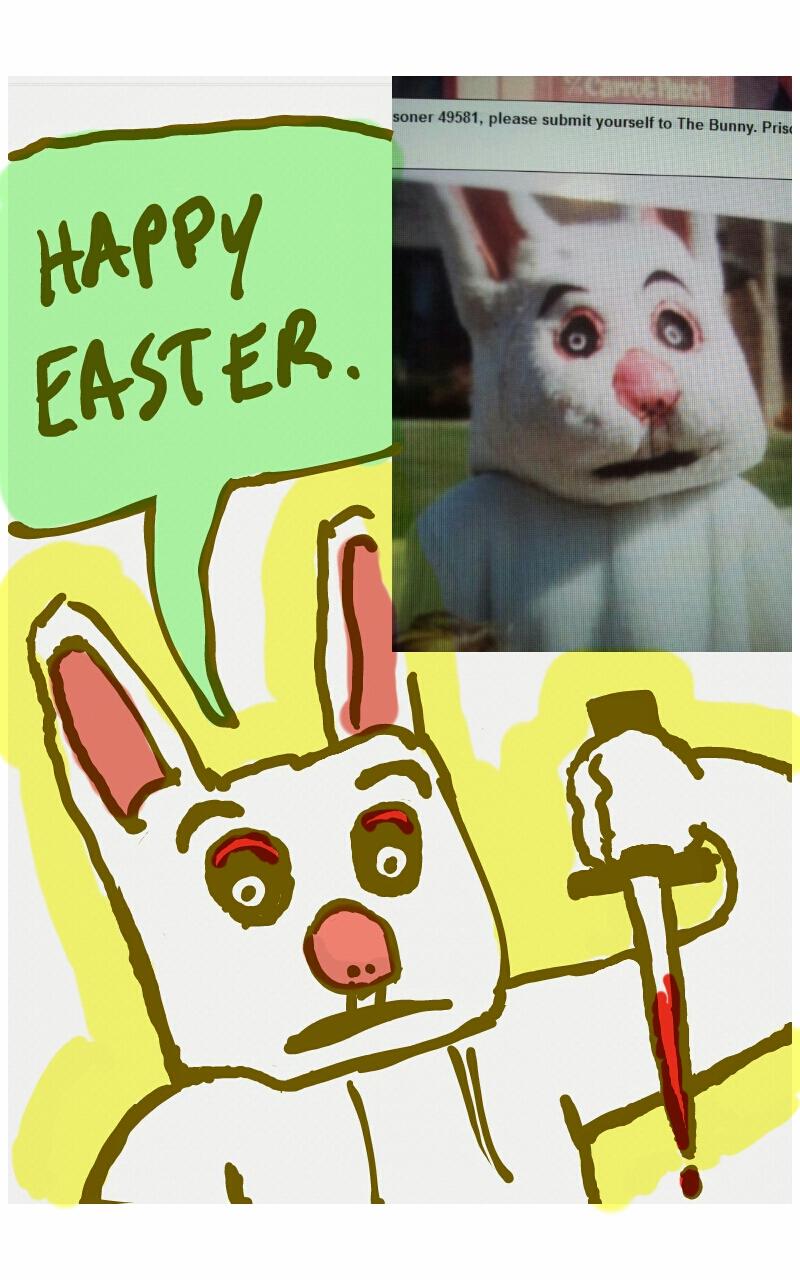 Sketchy Bunny by gaudog