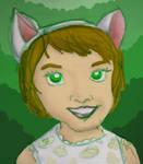 Catgirl - green