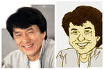 Jackie Chan Caricature