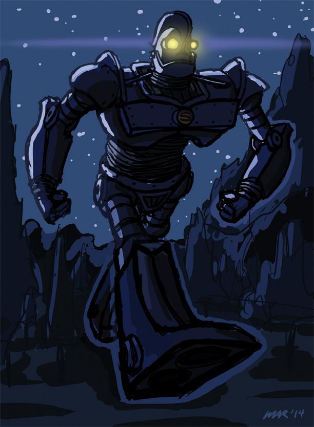 Iron Giant Variant by gaudog