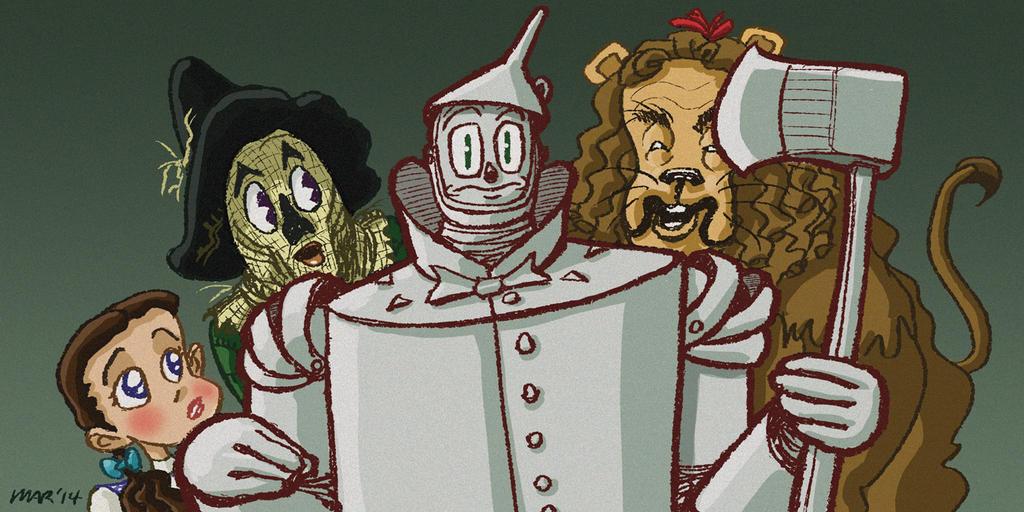 Wizard Of Oz - Tinman by gaudog