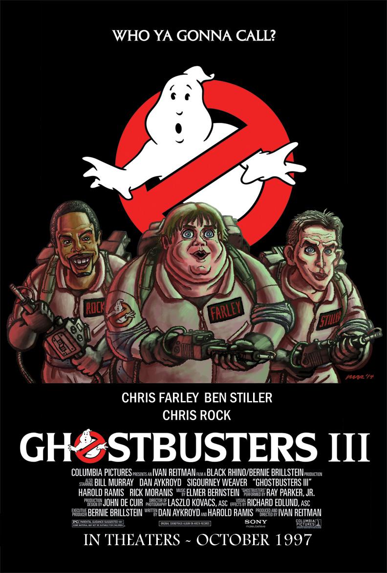 Ghostbusters III (1997) by gaudog