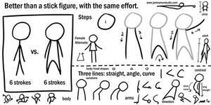 Draw Better Than a Stick Figure by gaudog