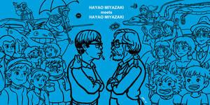 Miyazaki meets Miyazaki by gaudog