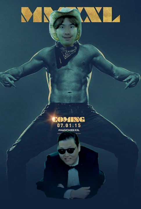 Magic Mike Gangnam Style MMXXL by gaudog