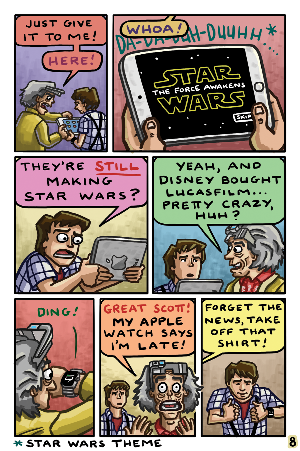 Back to the Future 2015 Page 8 by gaudog