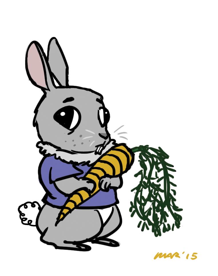 kid rabbit by gaudog