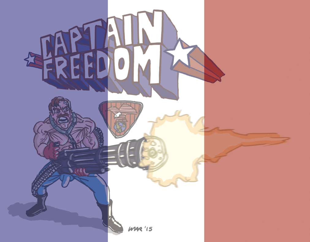 Captain Freedom Mini Paris by gaudog
