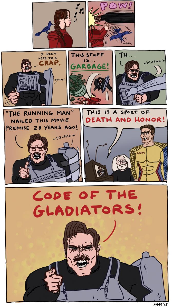 Captain Freedom Mockingjay by gaudog