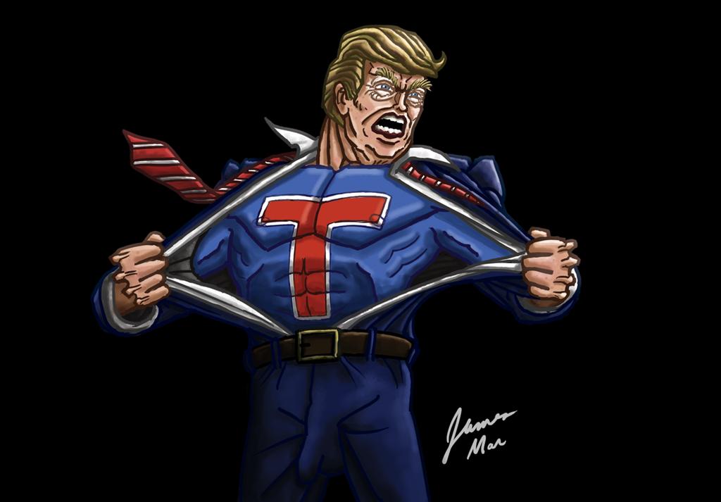 Super Trump! by gaudog