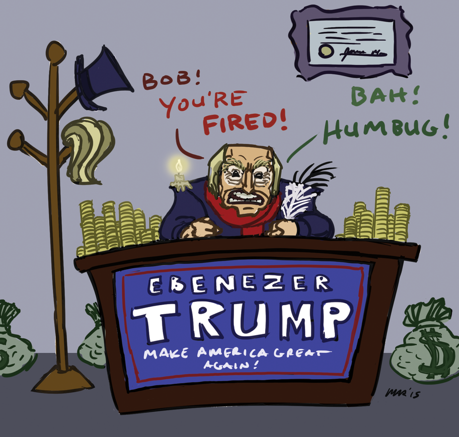 Ebenezer Trump by gaudog