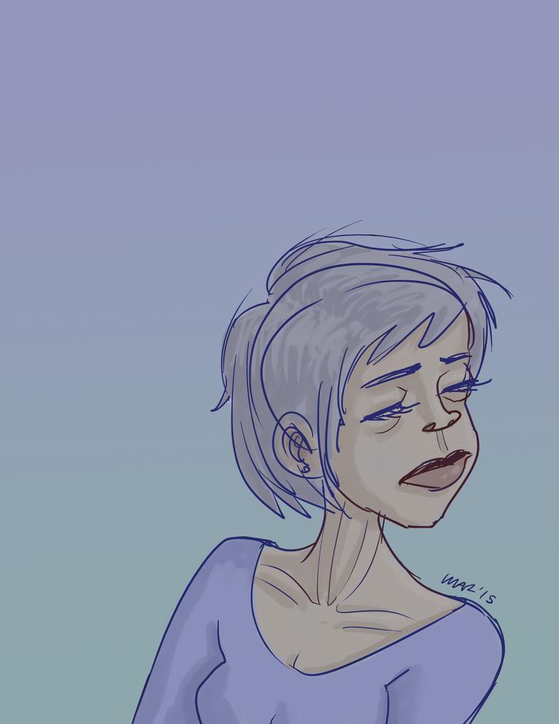Lady In Blue by gaudog