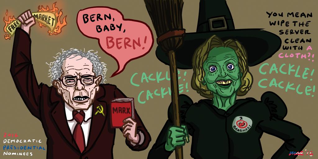 2016 Democratic Nominees by gaudog