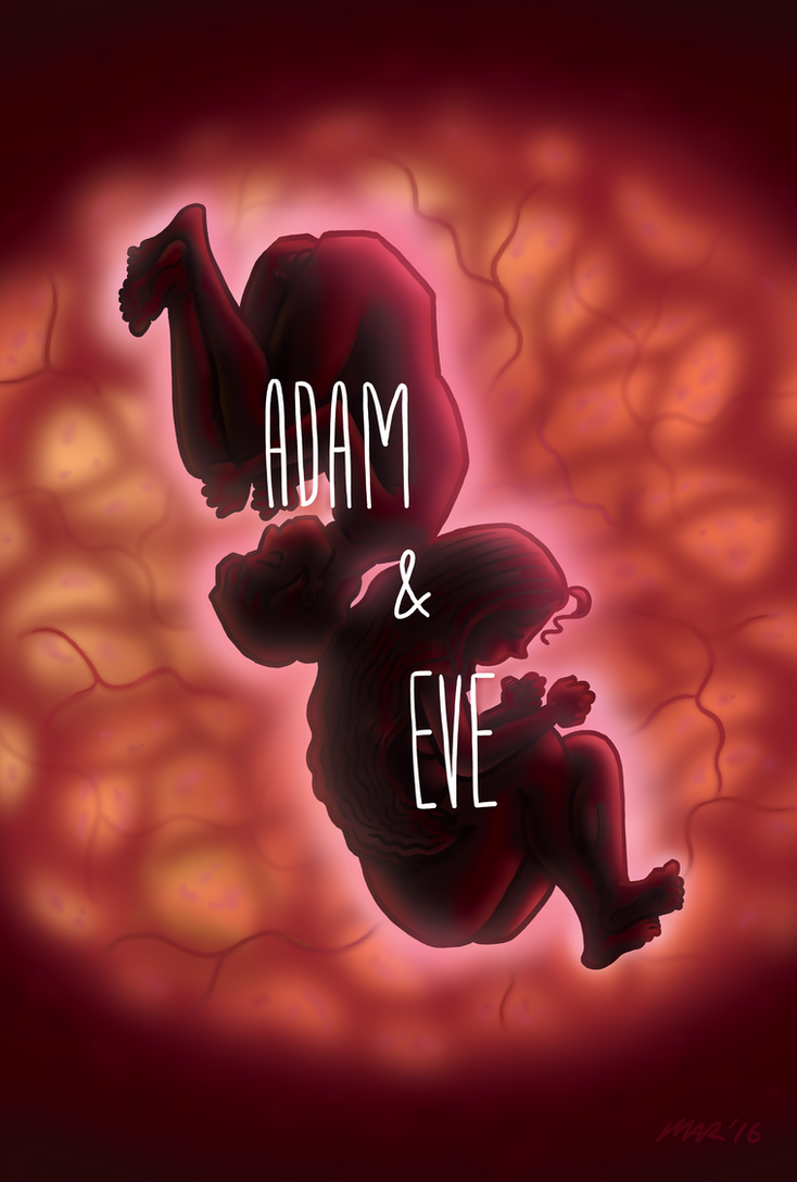 Adam and Eve Birth by gaudog